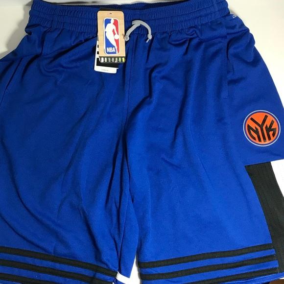 Adidas NBA New York KNICKS shorts - NWT